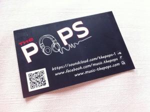 carte de visite the pops