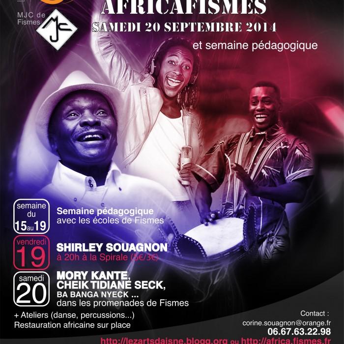 Affiche Africafismes 2014