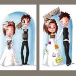 illustrations mariage