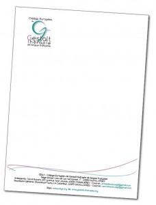 modèle de lettre avec nouveau logo du CEGt