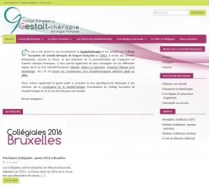 site du CEGt / page d'accueil