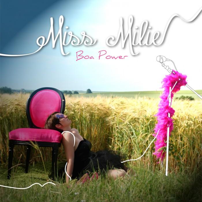 jaquette CD Miss Milie
