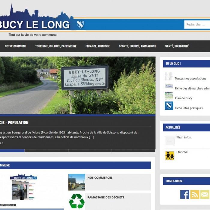 Site internet de la ville de Bucy-le-Long