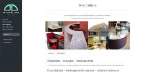 Site de la Menuiserie Denis