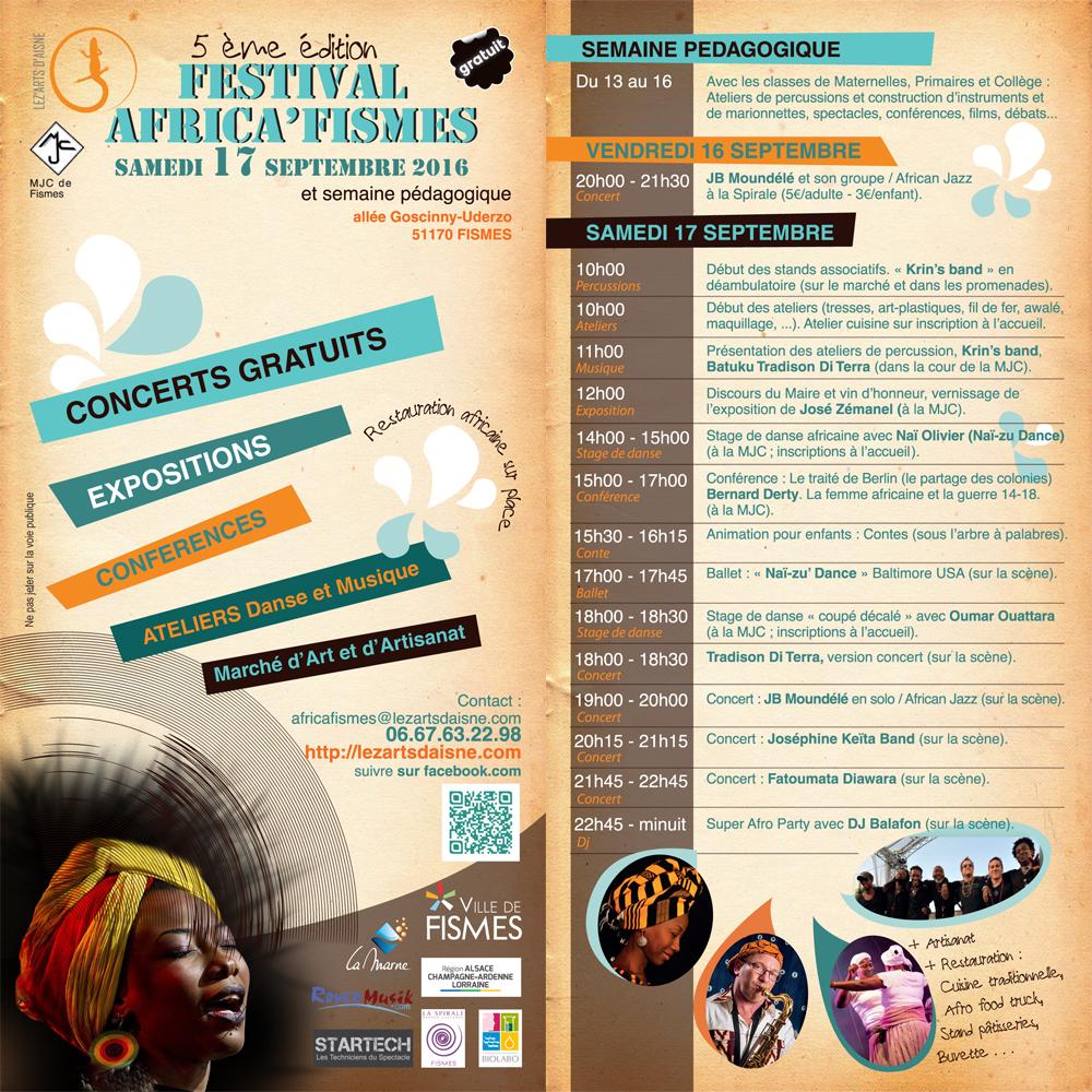 Programme Africafismes 2016