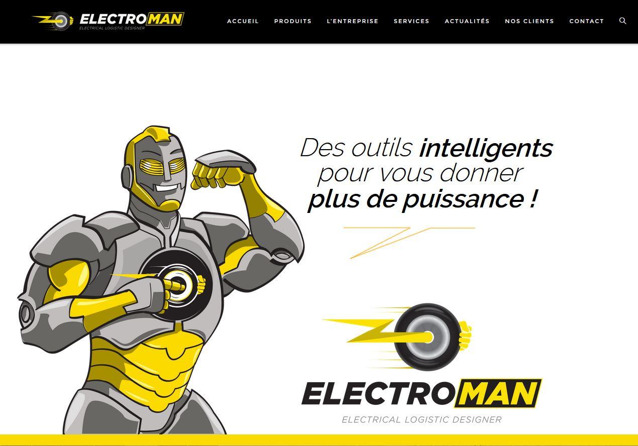site internet electroman