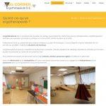 Page standard : site web de Loic Cordier Ergothérapeute