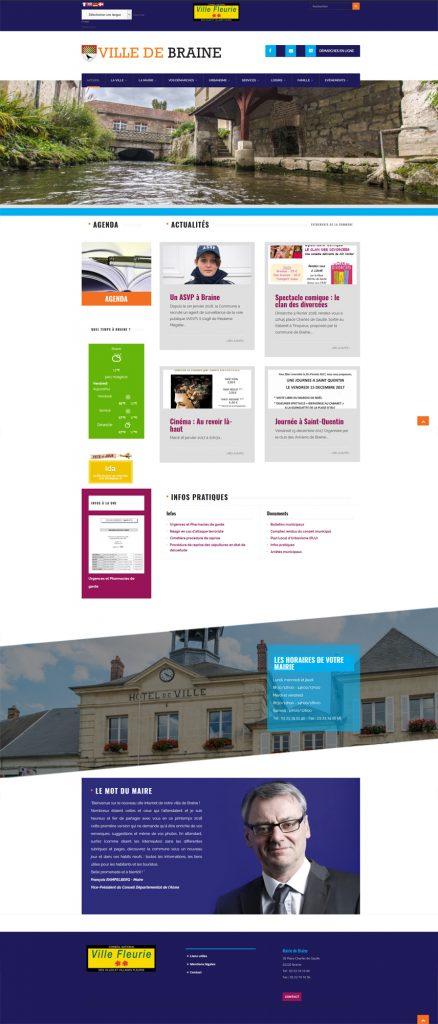 site internet de Braine