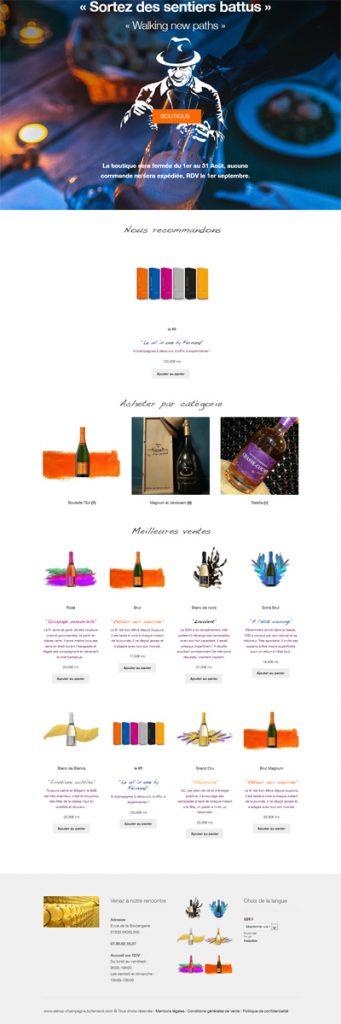 Champagne By Fernand boutique en ligne