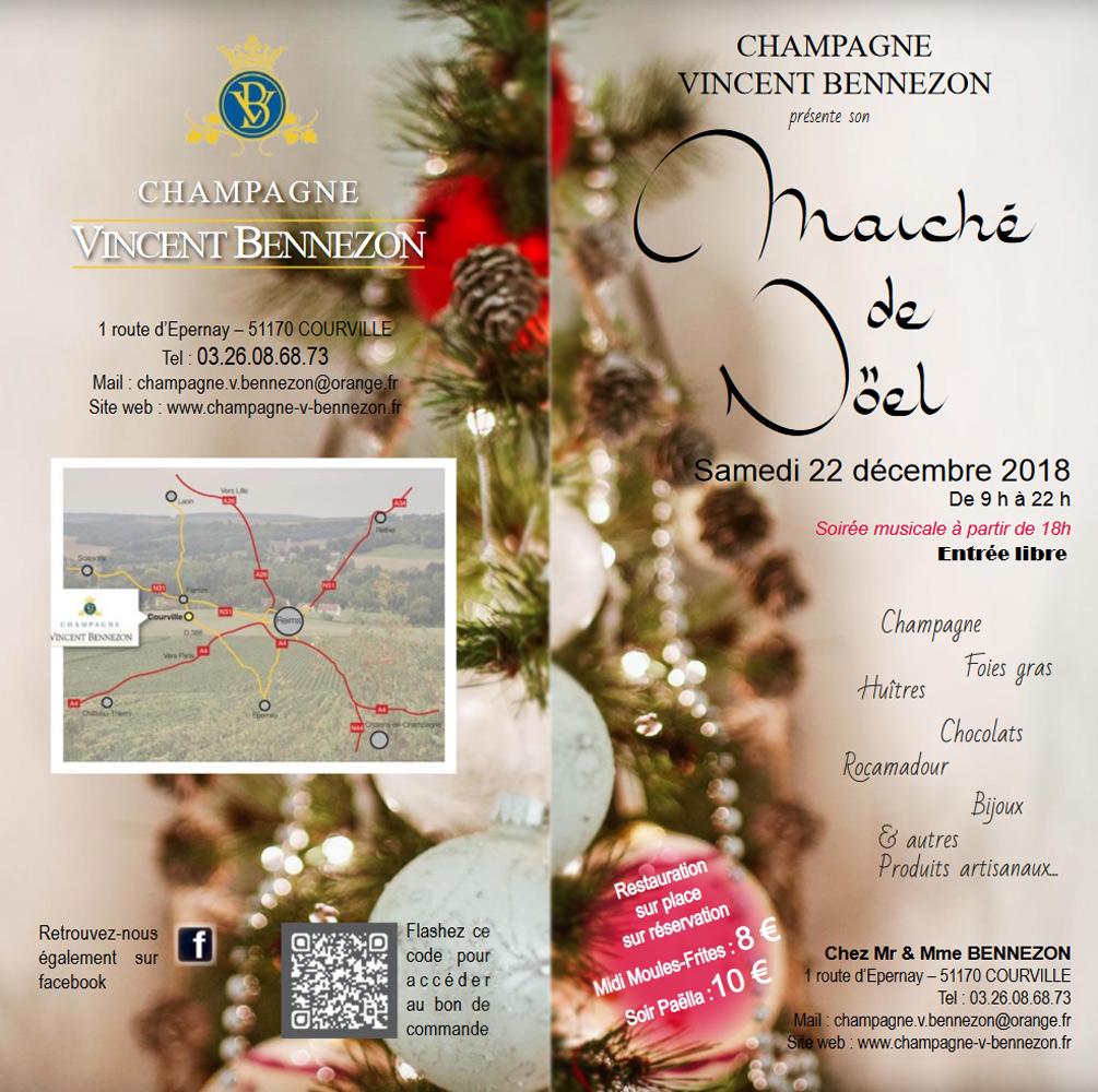 Brochure Champagne Vincent Bennezon 2018