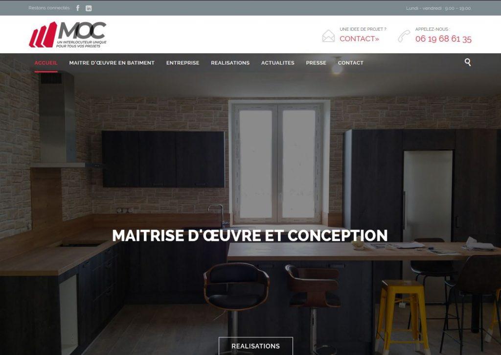 Site internet MOC Conception
