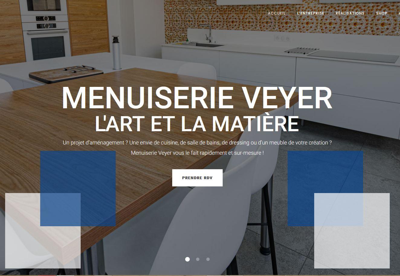site web menuiserie Veyer