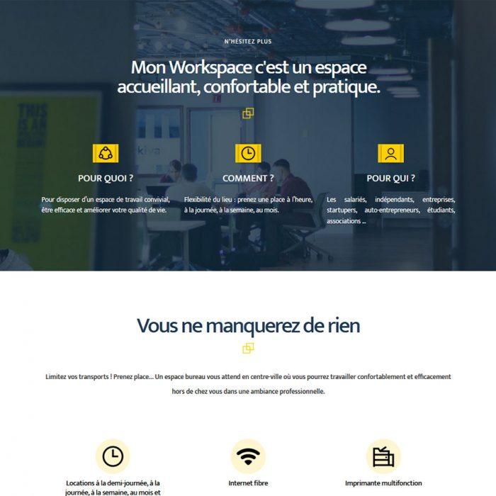 site internet mon workspace